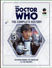 Doctor Who The Complete History Volume #08 Collectors Hardback Book Hachette Partworks